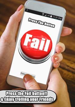 Fail Button Bleep buzzer poster