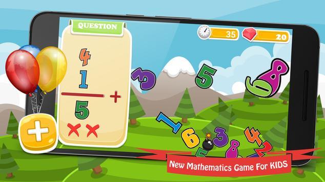 Math Games Mathematics - New poster