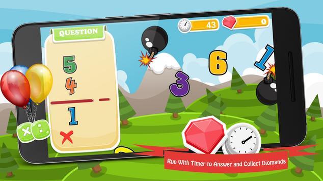 Math Games Mathematics - New screenshot 1