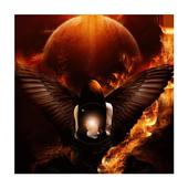 Magic of fire live wallpaper icon