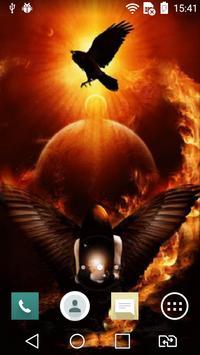 Magic of fire live wallpaper apk screenshot