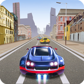 Racing In Speed Car icon