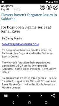 Fairbanks Daily News-Miner apk screenshot