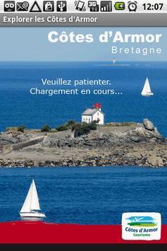 Explorer les Côtes d'Armor poster