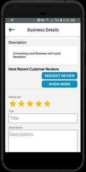 Local Neighbourhood App apk screenshot