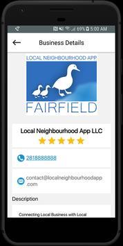 Local Neighbourhood App screenshot 2