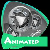 Cool metallic Best Music Theme icon