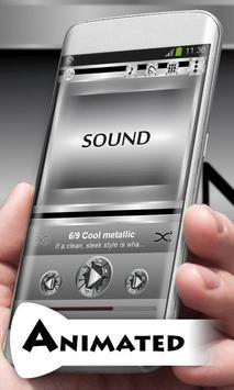 Cool metallic Best Music Theme apk screenshot