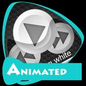 Carbon white icon