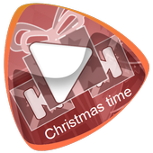 Christmas time icon