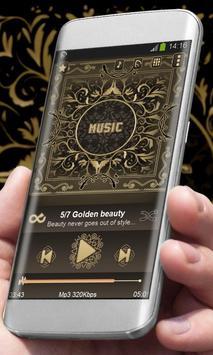 Golden beauty Best Music Theme poster