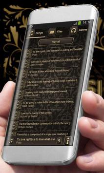 Golden beauty Best Music Theme apk screenshot