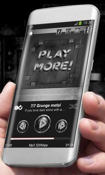 Grunge metal Best Music Theme poster