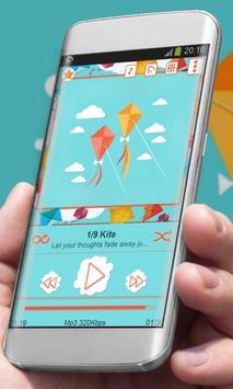 Kite Player Skin poster