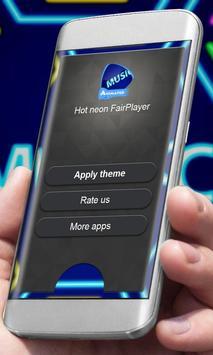 Hot neon Player Skin apk screenshot
