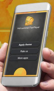 Hot summer Player Skin apk screenshot