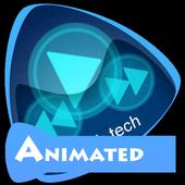 High tech Best Music Theme icon