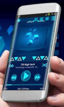 High tech Best Music Theme poster