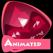 Hypnotic red Best Music Theme icon