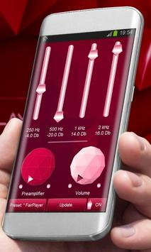 Hypnotic red Player Skin apk screenshot