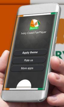 Ivory Coast Player Skin apk screenshot