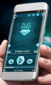 Magic crystal Best Music Theme poster