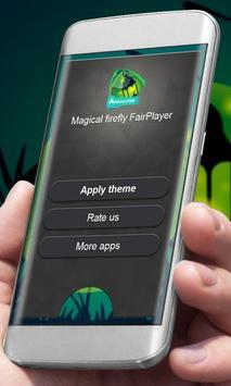 Magical firefly Player Skin apk screenshot