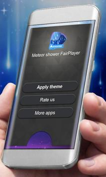 Meteor shower Player Skin apk screenshot