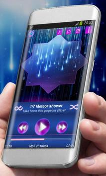 Meteor shower Best Music Theme poster