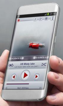 Misty lake Player Skin apk screenshot