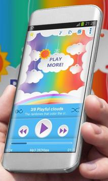 Playful clouds Best Music poster