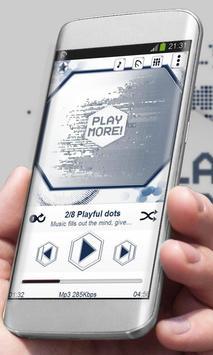 Playful dots Player Skin poster