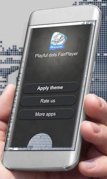 Playful dots Player Skin apk screenshot