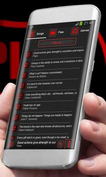 Red hexagon Player Skin apk screenshot
