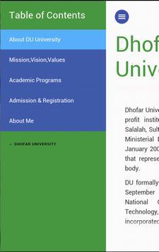 Dhofar University screenshot 5