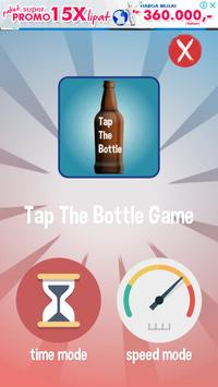 Happy Bottle Glass poster