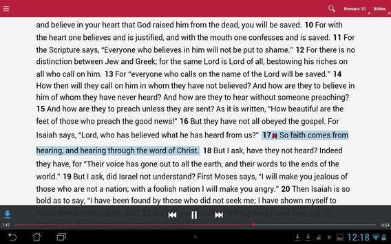 Bible: Dramatized Audio Bibles screenshot 6