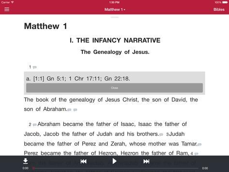 Bible: Dramatized Audio Bibles screenshot 7