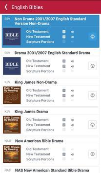 Bible: Dramatized Audio Bibles screenshot 1