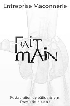 Fait Main poster