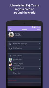 Team Fajr WakeUp screenshot 5