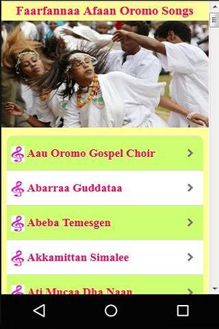 Faarfannaa Afaan Oromo Songs for Android - APK Download