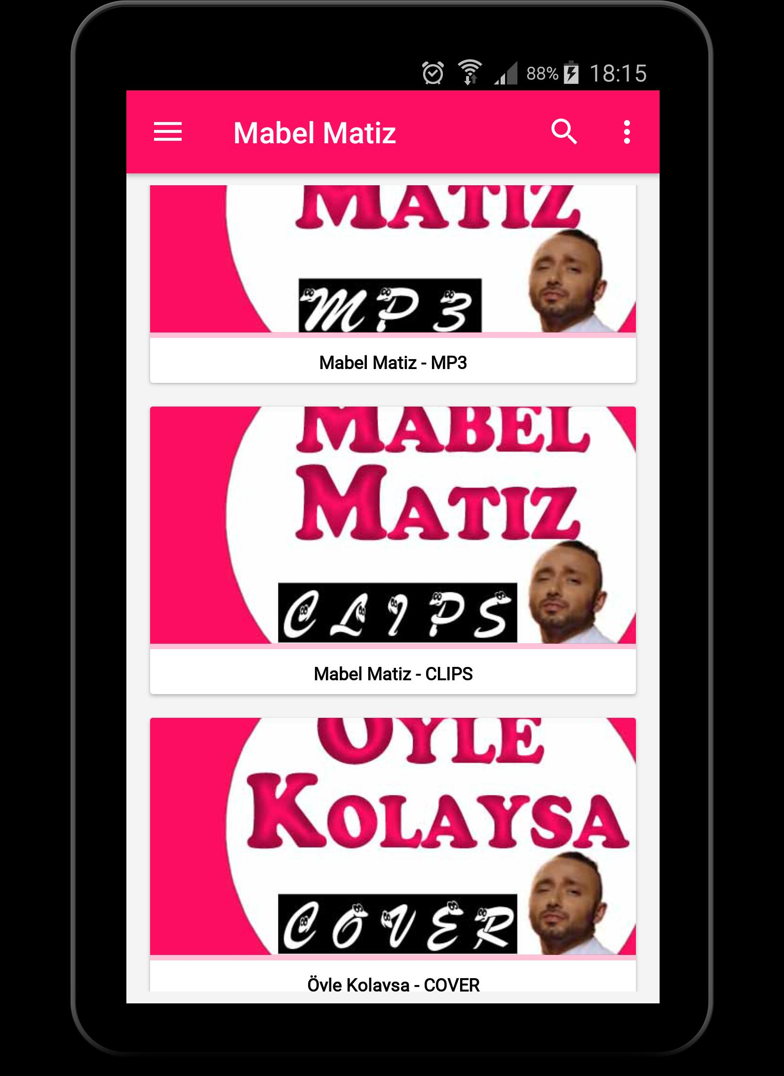 öyle kolaysa cover mabel matiz mp3 screenshot 4