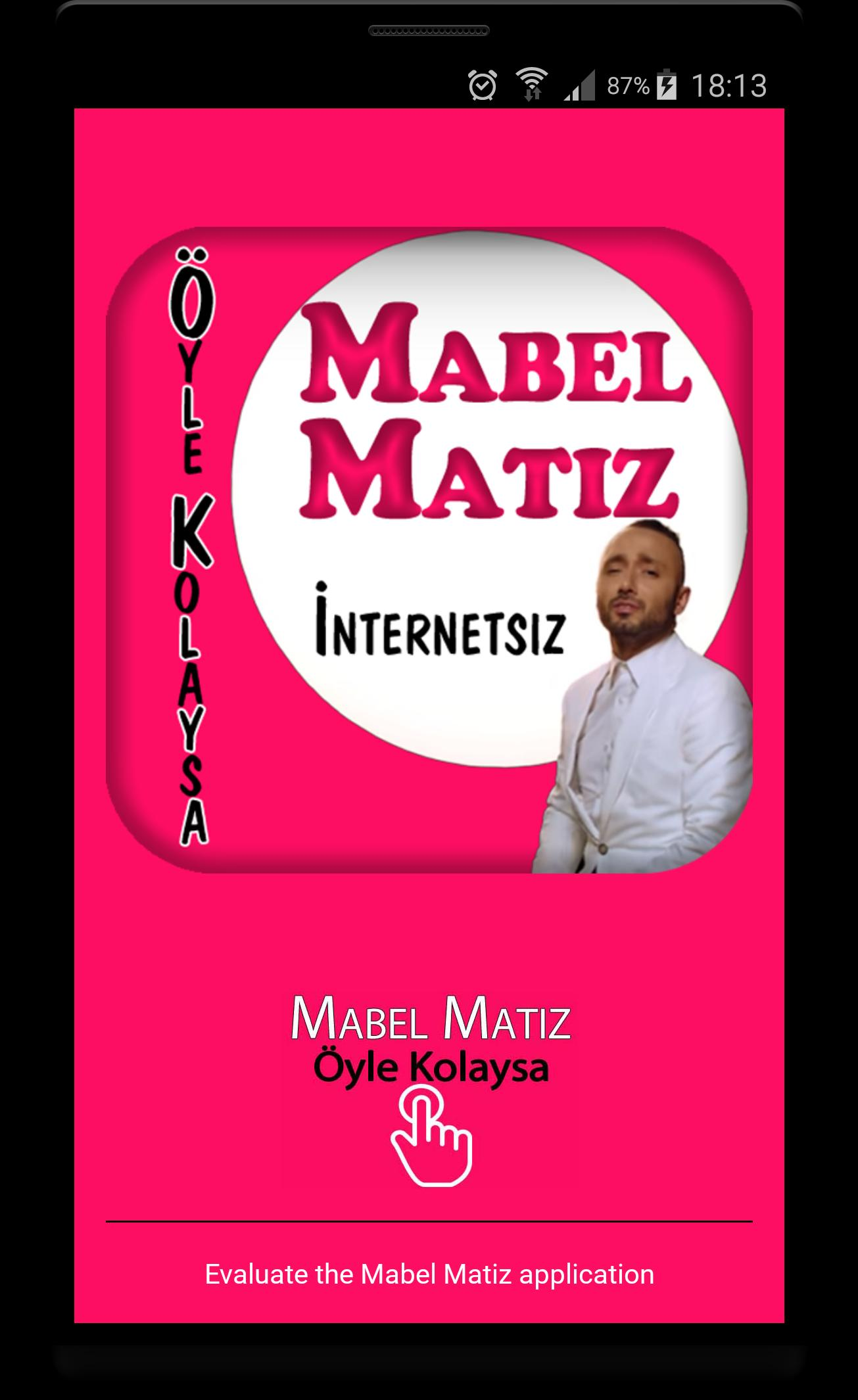 öyle kolaysa cover mabel matiz mp3 screenshot 6