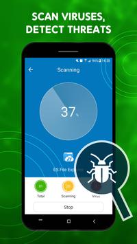 1 Schermata Scan Virus - Free Antivirus - Virus Cleaner