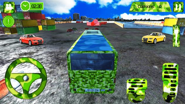 Army Bus Drive Simulator screenshot 6