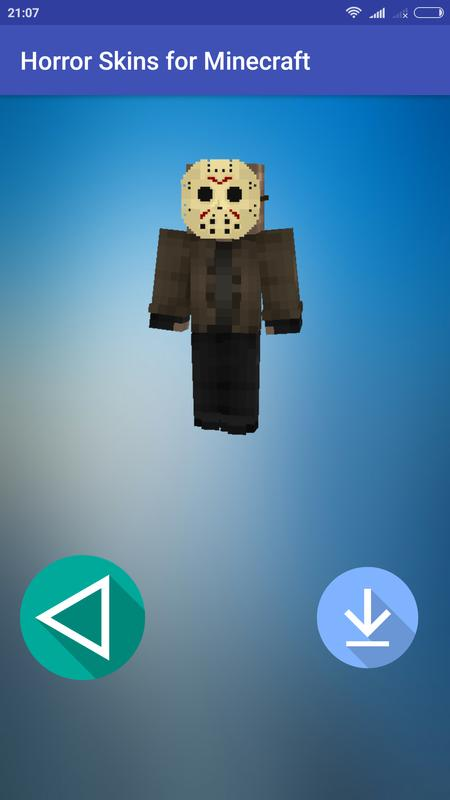 New Horror Skins For Minecraft Scary And Awful For Android APK - Horror skins fur minecraft