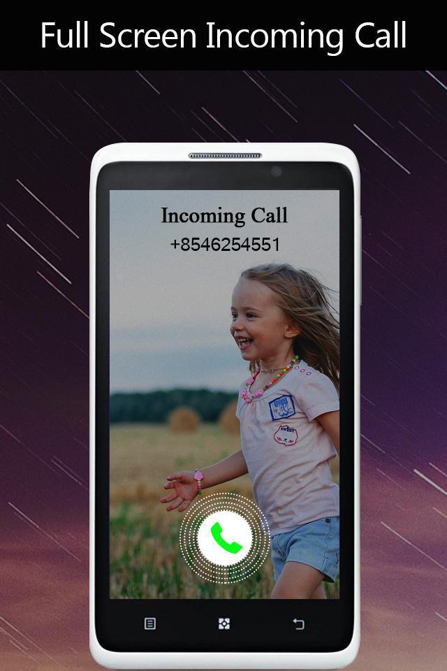 Full Screen Incoming Call poster