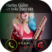 Fake Call From Harley Quinn icon