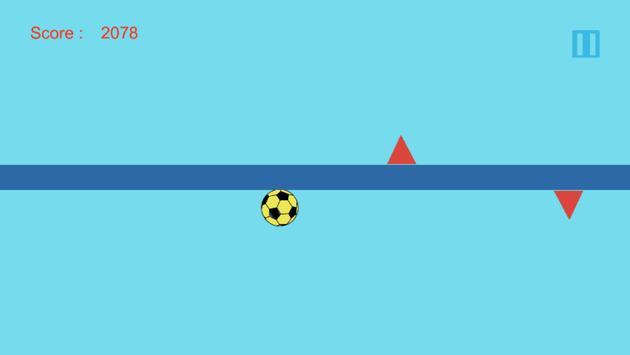 Fall Up Ball apk screenshot